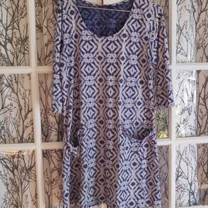 Fresh Produce Tie Die Dress Xl